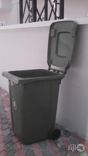 360 Litre Waste Bin With Two Wheels & Cover * Free Delivery | Garden for sale in Lagos State, Ikoyi