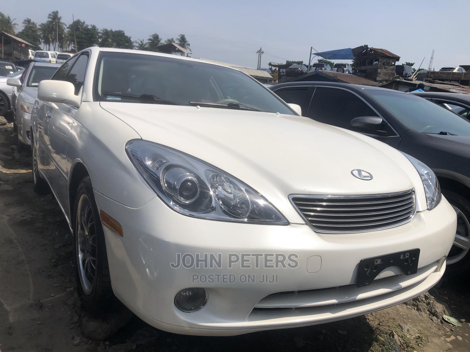 Lexus ES 2005 330 White   Cars for sale in Apapa, Lagos State, Nigeria