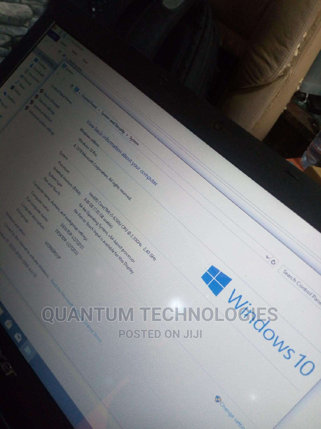 Laptop Acer Aspire F5-573 8GB Intel Core I5 SSHD (Hybrid) 500GB | Laptops & Computers for sale in Victoria Island, Lagos State, Nigeria