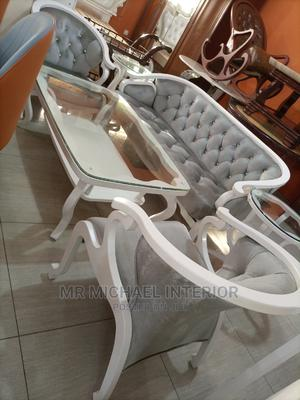 Complete Set By5 With Center Table and Sides Stools | Furniture for sale in Lagos State, Ojo