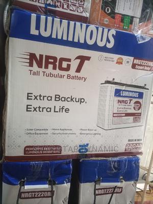 Luminous Tubular Solar Battery 220ah | Solar Energy for sale in Lagos State, Ojo