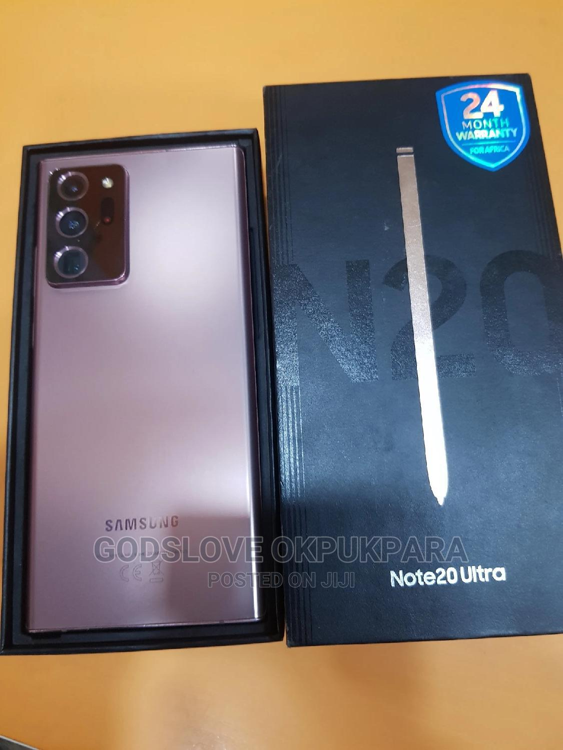 Samsung Galaxy Note 20 Ultra 256 GB Pink | Mobile Phones for sale in Wuse, Abuja (FCT) State, Nigeria
