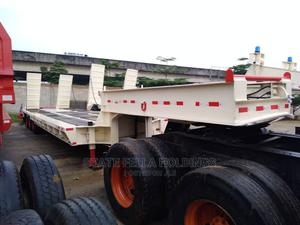 Strong 100 Ton, Tripple Axle, Back Loader, Lowbed.   Trucks & Trailers for sale in Rivers State, Port-Harcourt