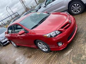 Toyota Corolla 2012 Red | Cars for sale in Lagos State, Ojodu