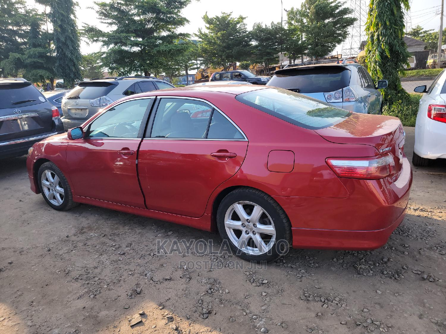 Toyota Camry 2007 Red | Cars for sale in Alimosho, Lagos State, Nigeria
