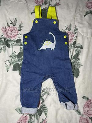 Dinosaur Detailed Dungarees   Children's Clothing for sale in Lagos State, Alimosho