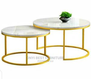 Quality Marble Center Table Set   Furniture for sale in Lagos State, Ogudu