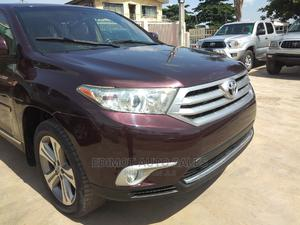 Toyota Highlander 2013 Limited 3.5L 2WD Red | Cars for sale in Lagos State, Ikeja