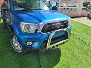 Toyota Tacoma 2012 Double Cab V6 Blue | Cars for sale in Lagos State, Ikeja