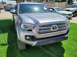 Toyota Tacoma 2016 4dr Double Cab Silver | Cars for sale in Lagos State, Ikeja