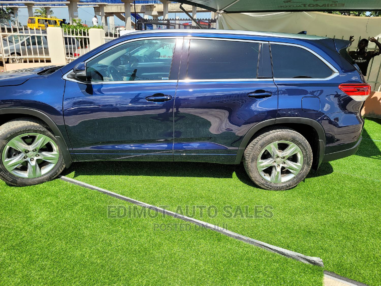 Toyota Highlander 2017 Blue | Cars for sale in Ikeja, Lagos State, Nigeria