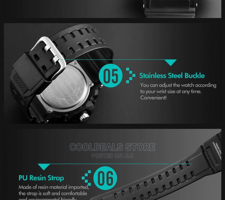 Archive: Skmei Men's Luxury Waterproof Luminous Digital Watch