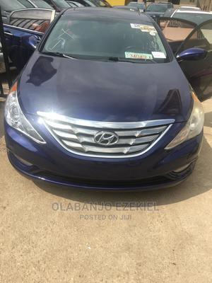Hyundai Sonata 2012 Blue | Cars for sale in Lagos State, Ogba