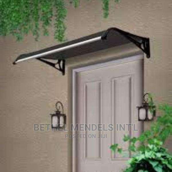 Impressive 1.2m * 1m Door Awning and Window Canopy for Sale | Garden for sale in Ikeja, Lagos State, Nigeria