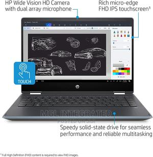New Laptop HP Pavilion X360 14 8GB Intel Core I5 512GB | Laptops & Computers for sale in Lagos State, Ikeja