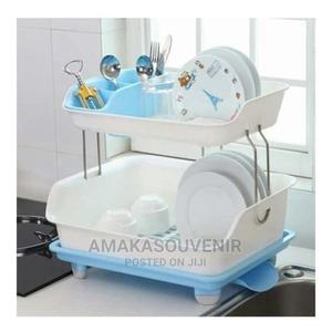 Dish Rack With Drainer - 2 Tiers | Kitchen & Dining for sale in Lagos State, Lagos Island (Eko)