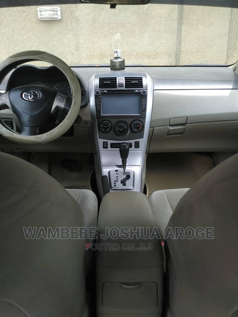 Archive: Toyota Corolla 2012 Gold