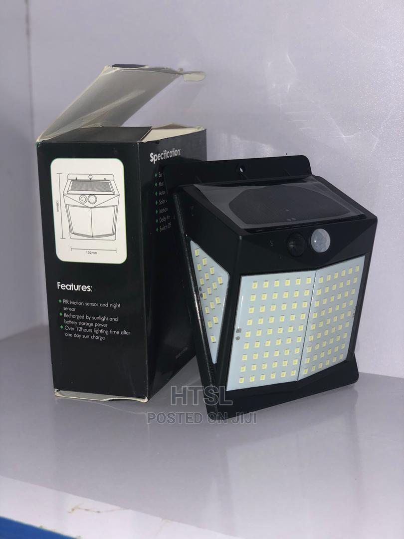 3 Mode Solar Motion Sensor Garden/Wall LED Light | Solar Energy for sale in Abeokuta South, Ogun State, Nigeria