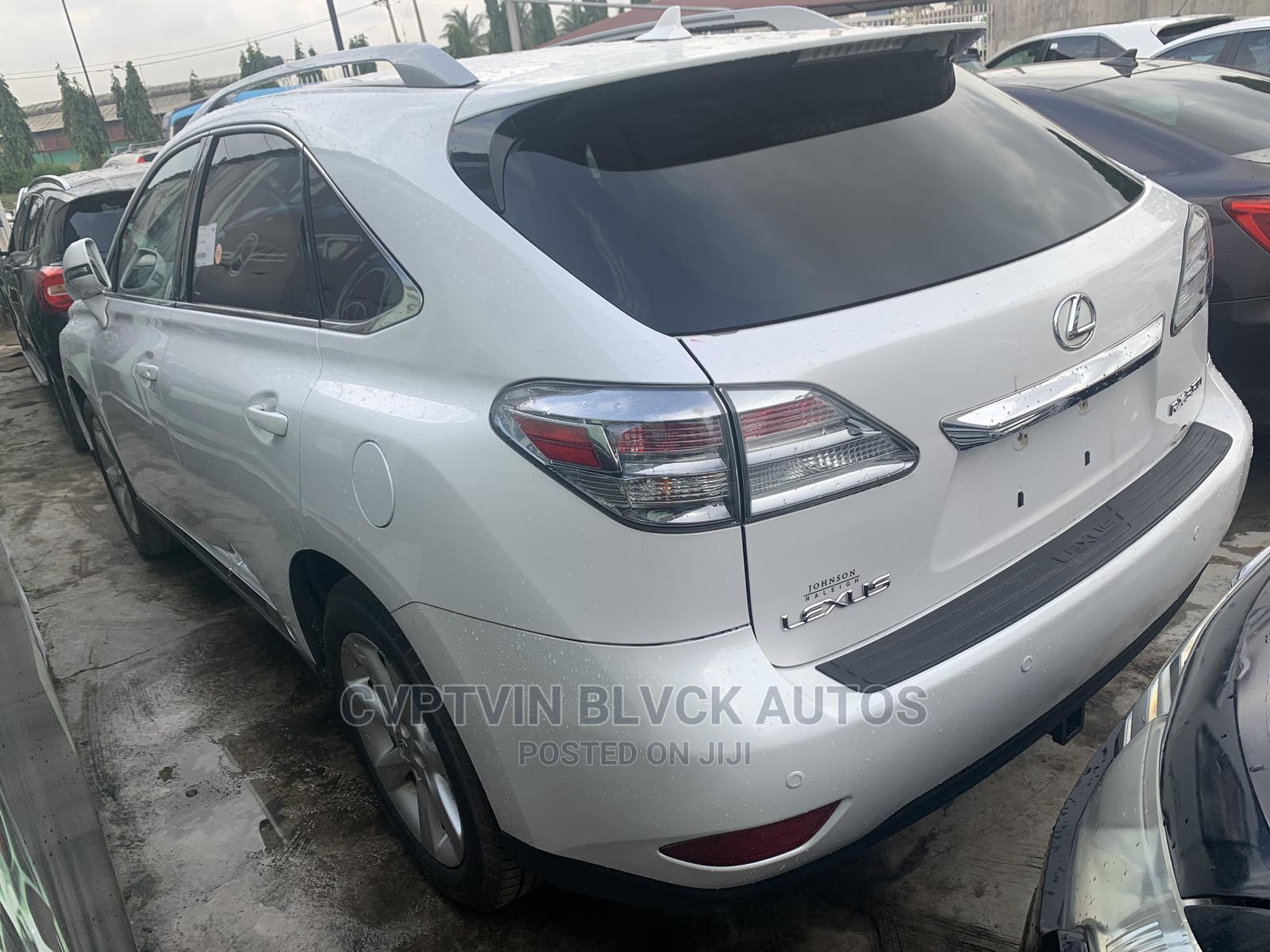 Lexus RX 2010 350 White | Cars for sale in Ikeja, Lagos State, Nigeria