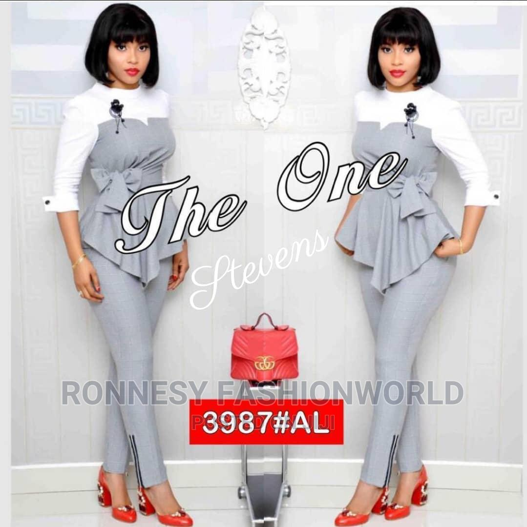 Elegant Classic Trendy Female Quality Trouser and Top | Clothing for sale in Ikeja, Lagos State, Nigeria