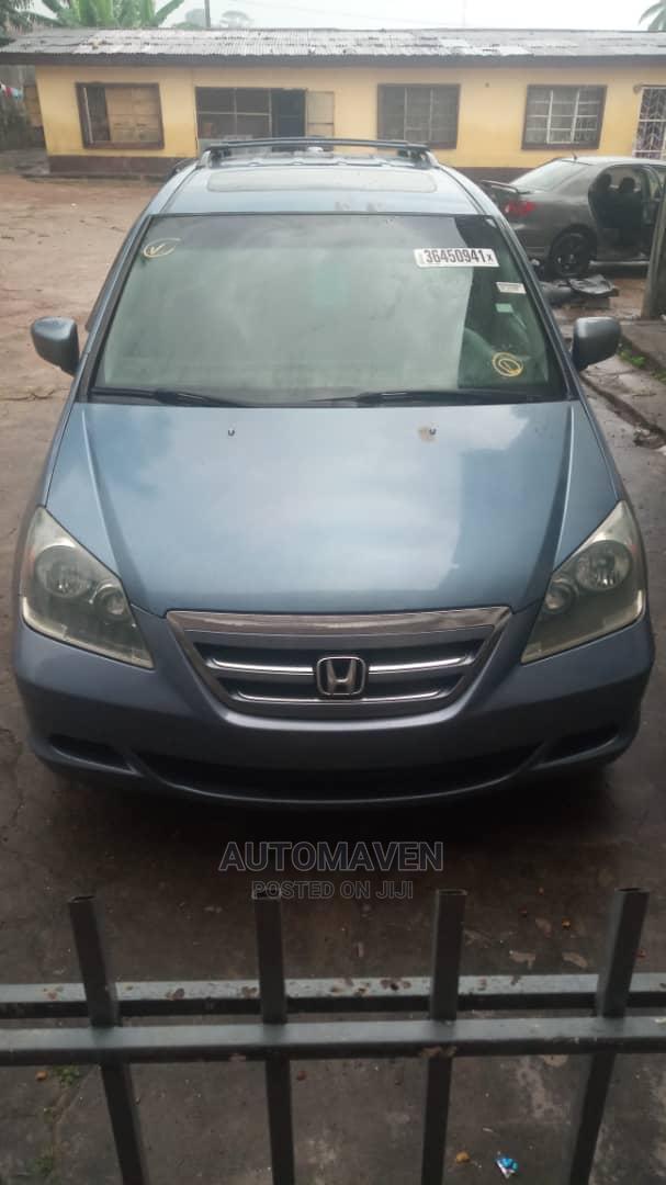 Honda Odyssey 2007 EX Blue   Cars for sale in Alimosho, Lagos State, Nigeria