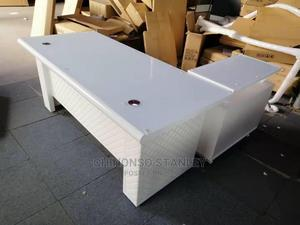 Classic White Executive Office Table | Furniture for sale in Lagos State, Ojo