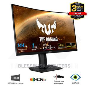 ASUS TUF Gaming VG32VQ1B 31.5 Inch Curved Gaming Monitor | Computer Monitors for sale in Lagos State, Ikeja