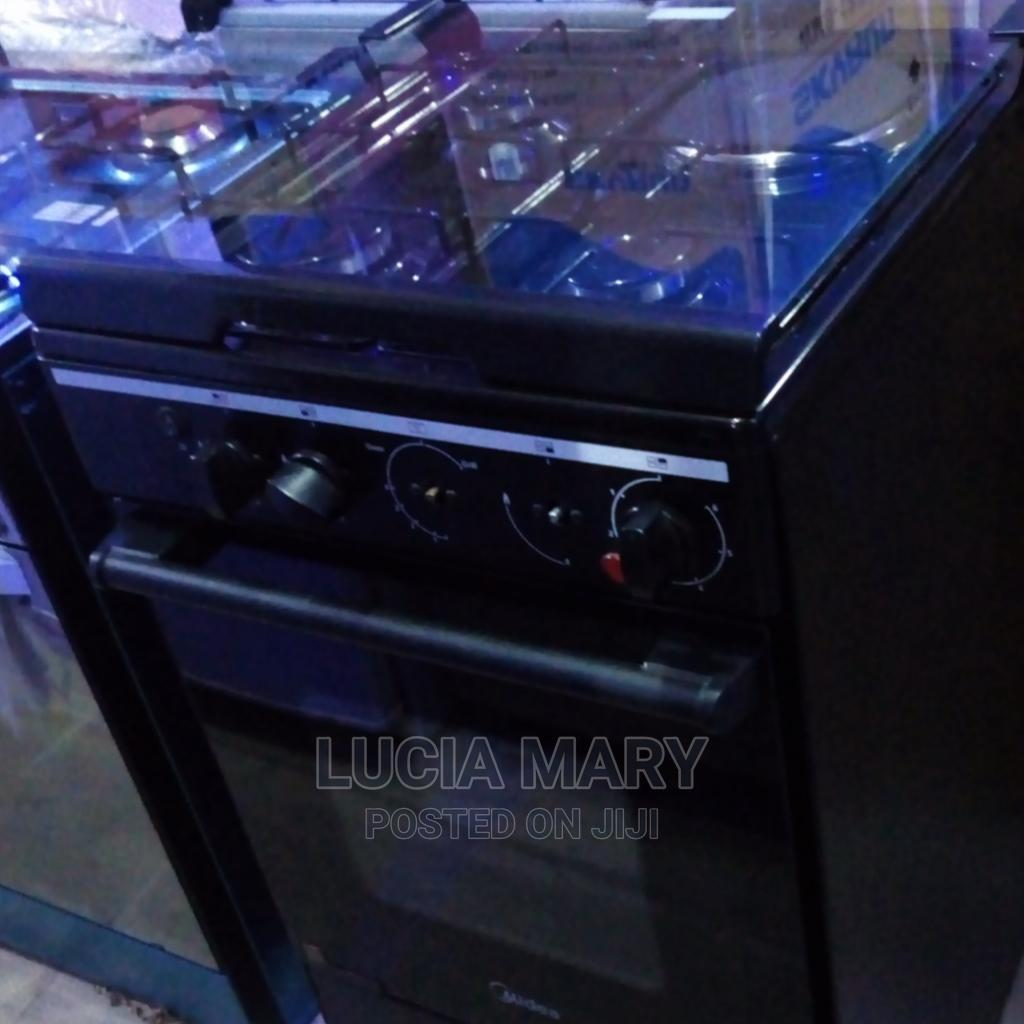 Midea Standing Gas Cooker 60by60 1+3 Burner With Oven