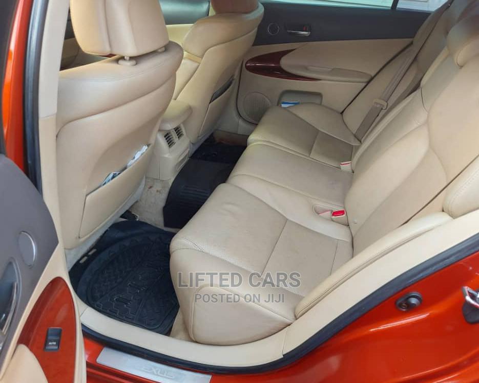 Archive: Lexus GS 2007 Orange