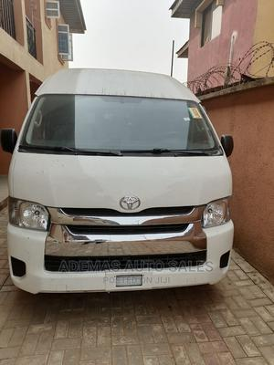 Toyota Hiace 2015 Model, Manual Transmission, Petrol Engine. | Buses & Microbuses for sale in Lagos State, Ikeja