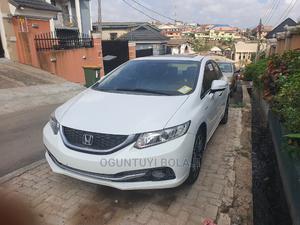 Honda Civic 2013 Sedan EX White   Cars for sale in Lagos State, Ojodu