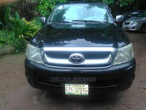 Toyota Hilux 2010 2.7 VVT-i 4X4 SRX Black | Cars for sale in Lagos State, Ikeja