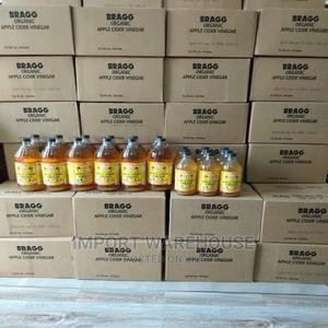 Original Bragg Apple Cider Vinegar -473ml -Carton of 12 | Meals & Drinks for sale in Lagos State, Ajah