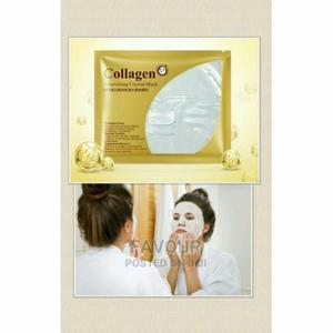 Bio Aqua Collagen Crystal Facial Mask X5 | Skin Care for sale in Lagos State, Surulere