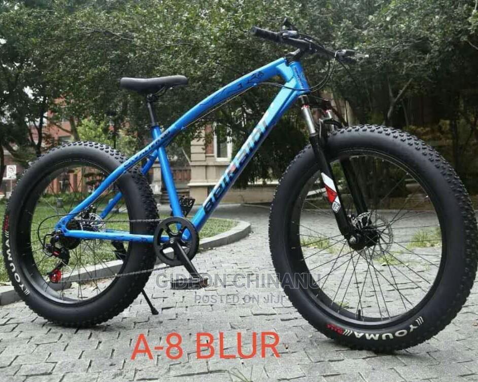 Fat Tyre Cruiser Bike