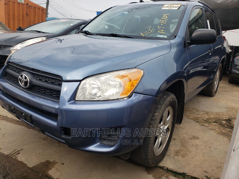 Toyota RAV4 2010 2.5 4x4 Blue   Cars for sale in Ilupeju, Lagos State, Nigeria
