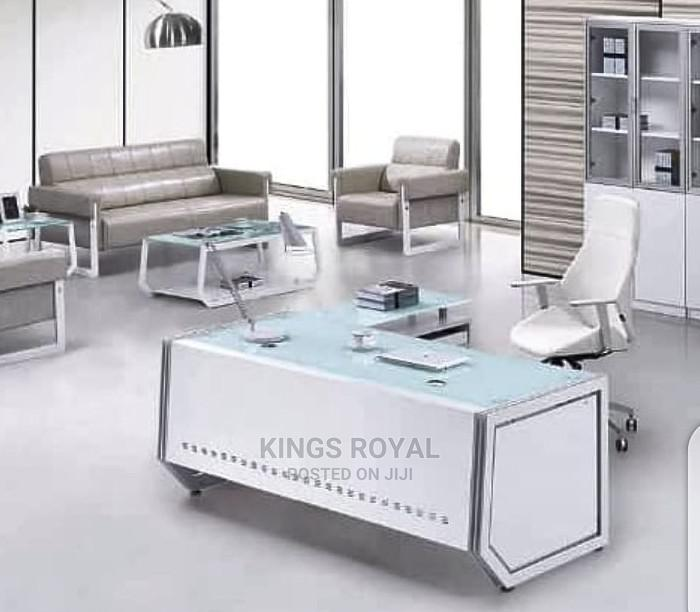 Imported Executive Office Table and Chair