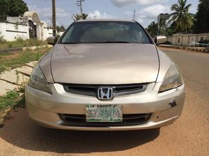 Honda Accord 2004 Sedan EX Gold | Cars for sale in Kwara State, Ilorin West