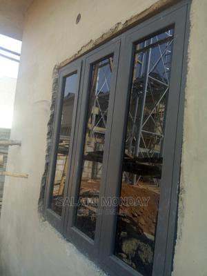 Casement Window With Gray Color | Windows for sale in Abuja (FCT) State, Jabi