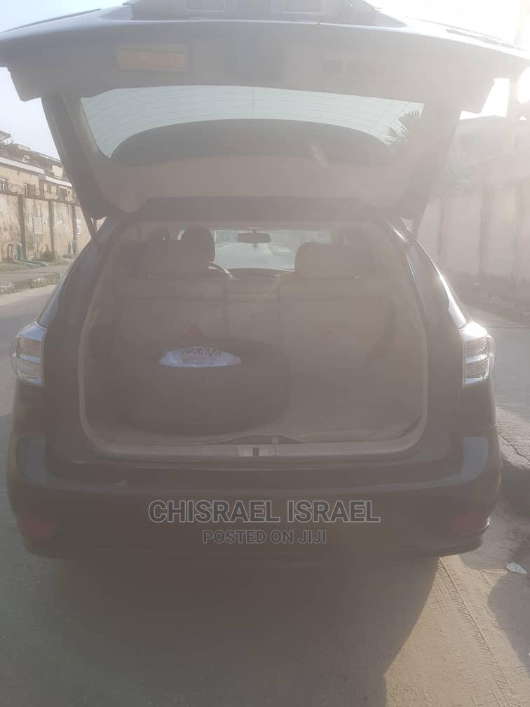 Lexus RX 2012 350 FWD Black | Cars for sale in Amuwo-Odofin, Lagos State, Nigeria