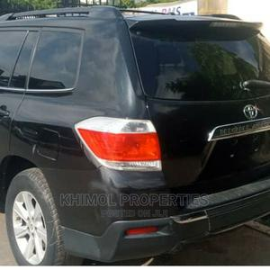 Toyota Highlander 2012 Black   Cars for sale in Abuja (FCT) State, Asokoro