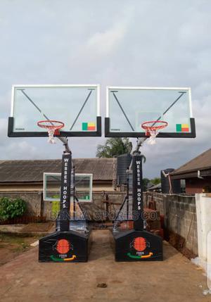 Standard Basketball Post | Sports Equipment for sale in Lagos State, Lagos Island (Eko)