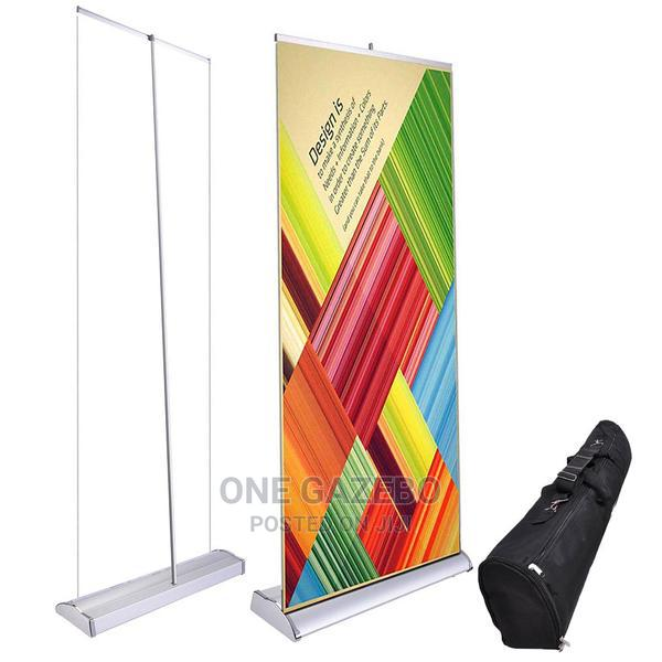 3ft Roll-up Banner Stand Rollup Printing | Printing Equipment for sale in Ikeja, Lagos State, Nigeria