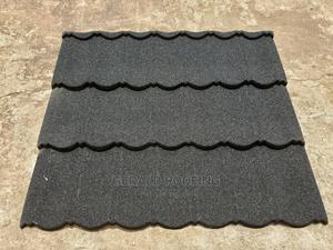 Quality Black Bond Stone Coated Roofing Sheet in Lagos | Building Materials for sale in Lagos State, Amuwo-Odofin