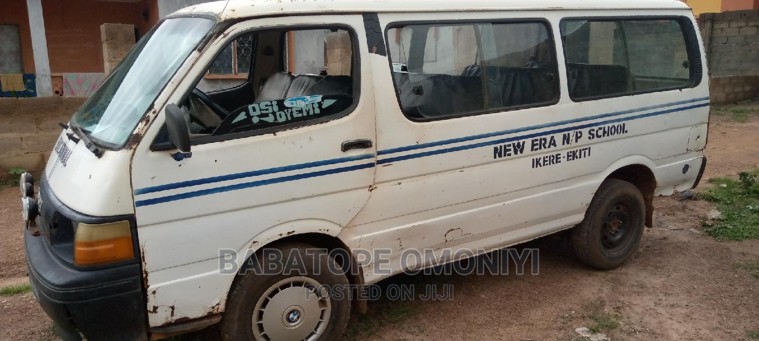 Archive: Used Hiace Bus