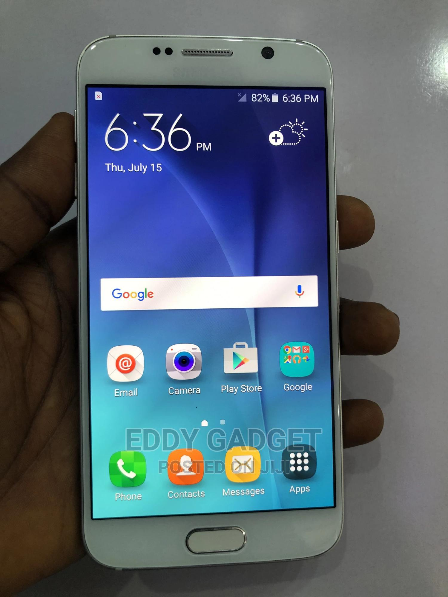 Samsung Galaxy S6 32 GB White   Mobile Phones for sale in Lugbe District, Abuja (FCT) State, Nigeria