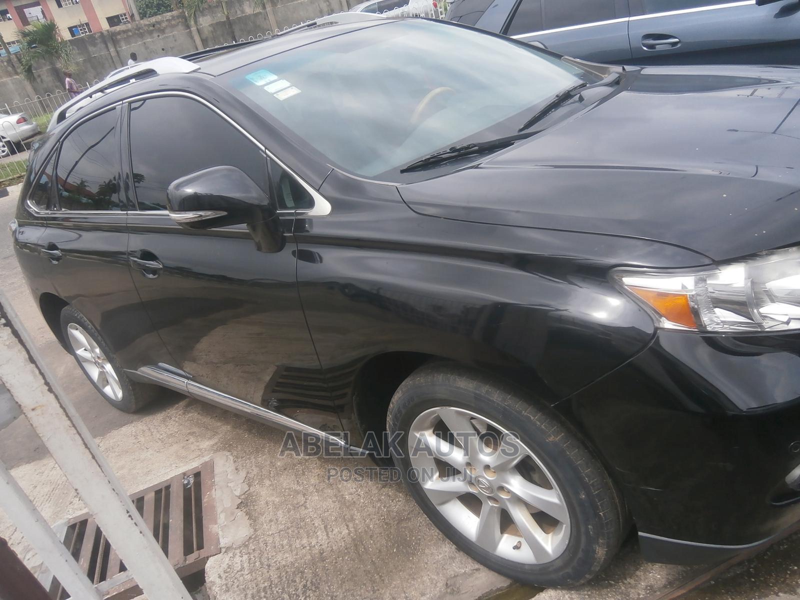 Archive: Lexus RX 2010 350 Black