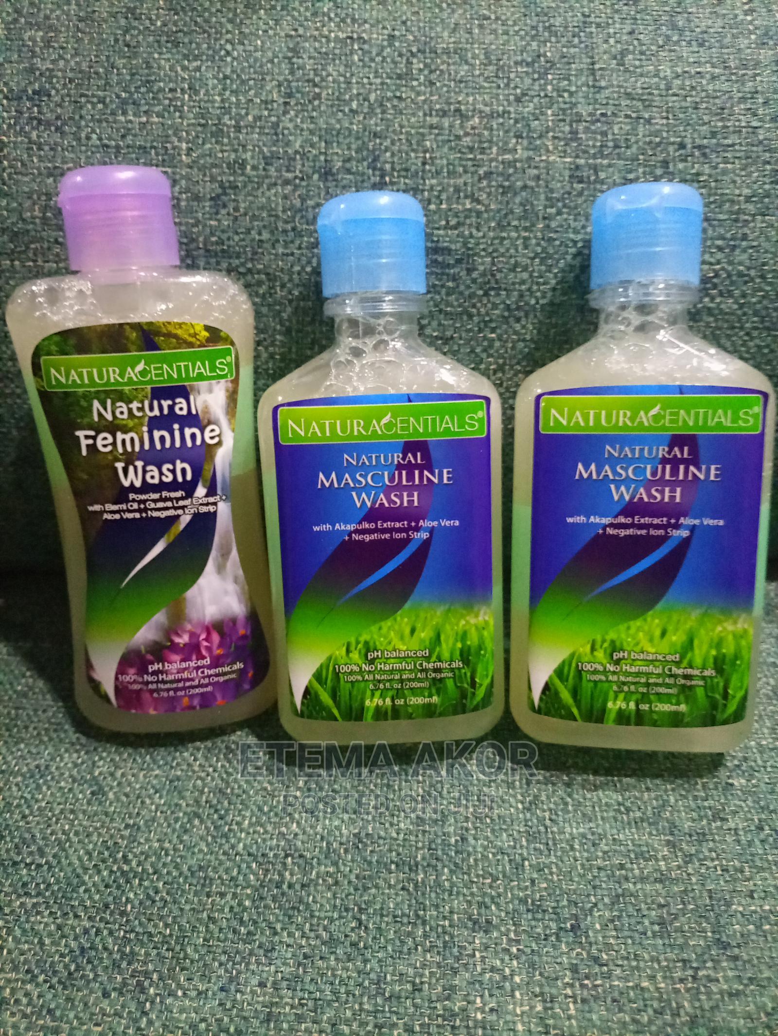 2 Natural Masculine Wash