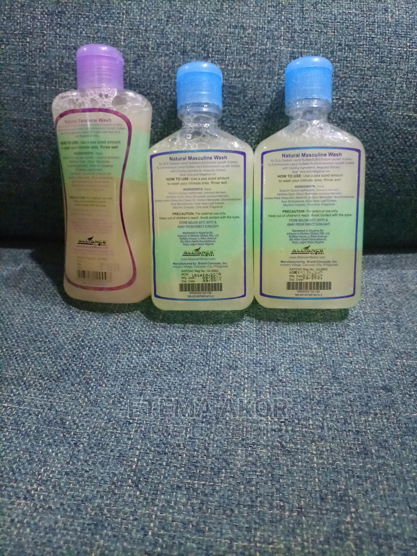 2 Natural Masculine Wash | Sexual Wellness for sale in Central Business District, Abuja (FCT) State, Nigeria