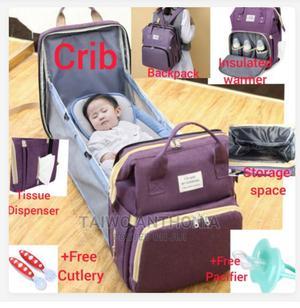 Multi Purpose Foldable Baby Bed | Children's Furniture for sale in Imo State, Owerri